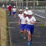 小野っ子 力走 マラソン大会